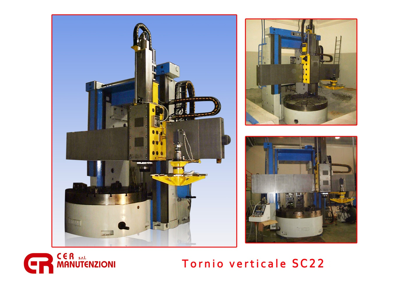 Tornio verticale SC22